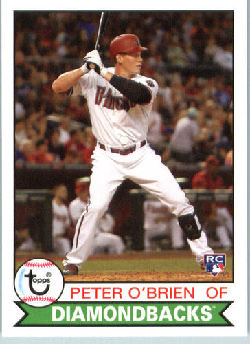 Photo of 2016 Topps Archives #186 Peter O'Brien RC