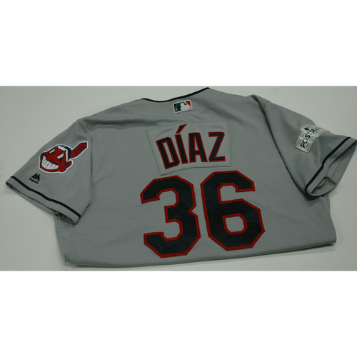 Photo of Yandy Diaz 2017 Team-Issued Postseason Road Jersey