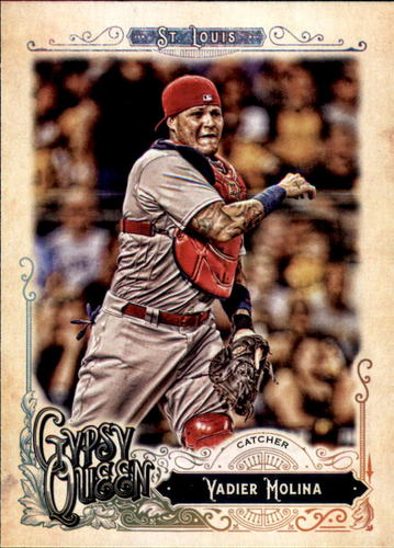 Photo of 2017 Topps Gypsy Queen #231 Yadier Molina