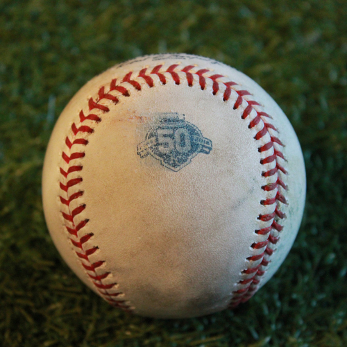 Photo of Game-Used Baseball: Sean Gilmartin Pitched Strikeout to Brett Phillips (MIN @ KC - 9/2/18)