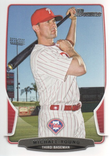 Photo of 2013 Bowman #31 Michael Young