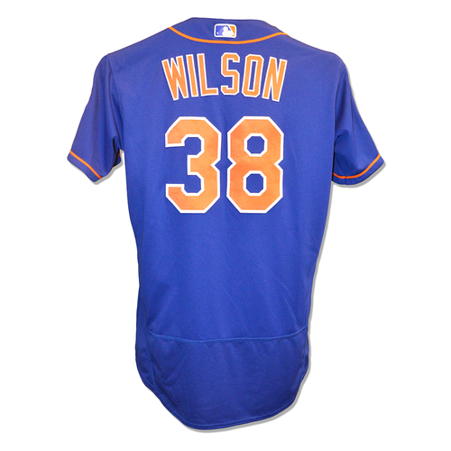 Photo of Justin Wilson #38 - Team Issued 2019 Spring Training Jersey - 2019 Spring Training