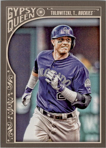 Photo of 2015 Topps Gypsy Queen #155 Troy Tulowitzki