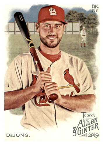 Photo of 2019 Topps Allen and Ginter #231 Paul DeJong