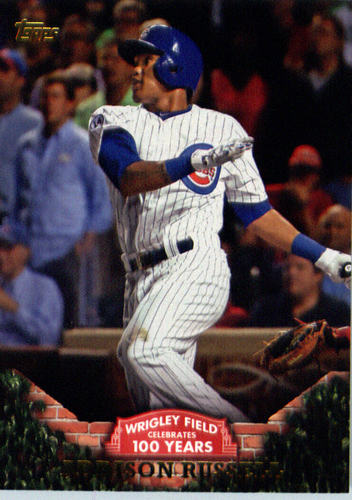 Photo of 2016 Topps 100 Years at Wrigley Field #WRIG13 Addison Russell