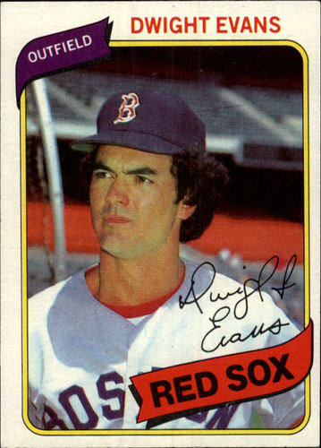 Photo of 1980 Topps #405 Dwight Evans