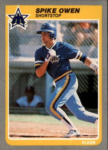 Photo of 1985 Fleer #497 Spike Owen