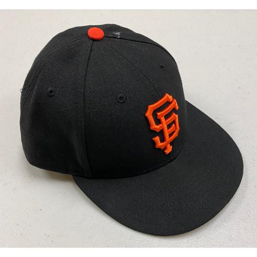 Photo of 2019 Team Issued Regular Season Black Cap - #56 Tony Watson - Size 7 1/4 *Low Profile*