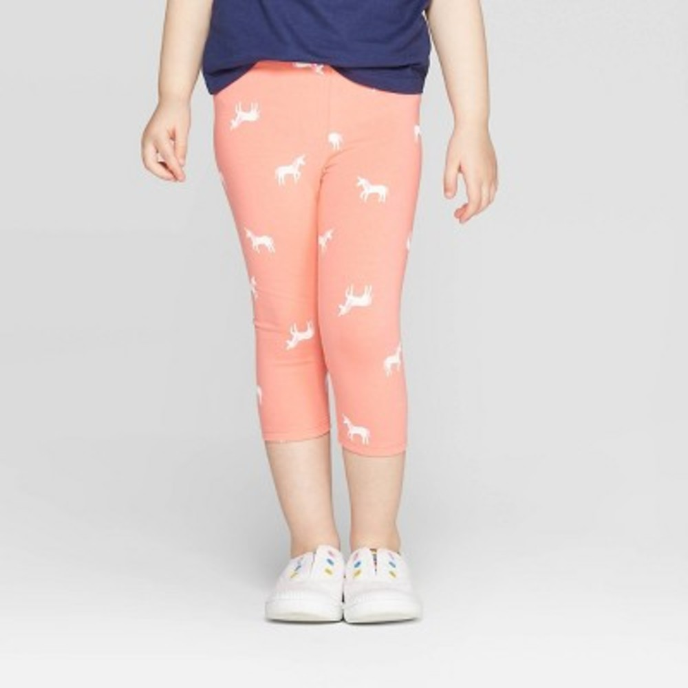 Photo of Toddler Girls' Capri Leggings - Cat & Jack