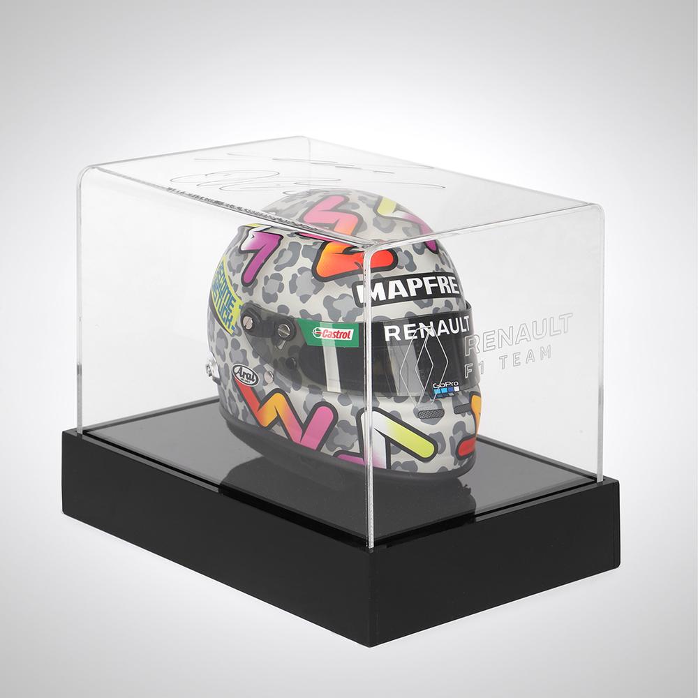 Daniel Ricciardo 2020 1:2 Scale Helmet with Signed Illuminated Case