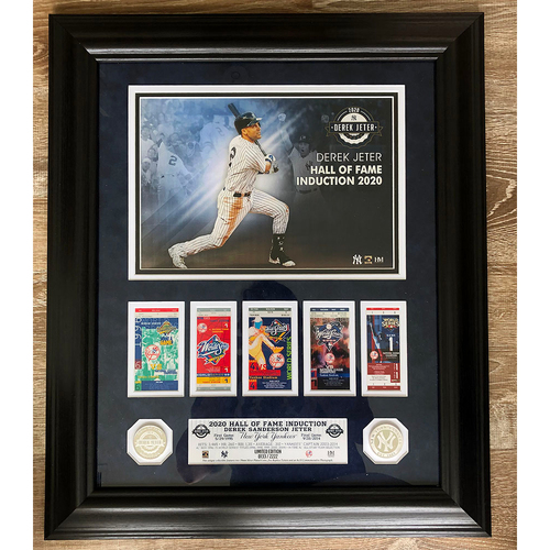Photo of UMPS CARE AUCTION: Derek Jeter Induction into the Hall of Fame Commemorative Piece