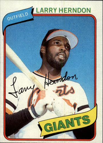 Photo of 1980 Topps #257 Larry Herndon
