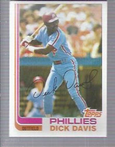 Photo of 1982 Topps #352 Dick Davis