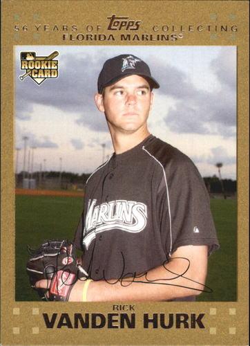 Photo of 2007 Topps Update Gold #168 Rick Vanden Hurk