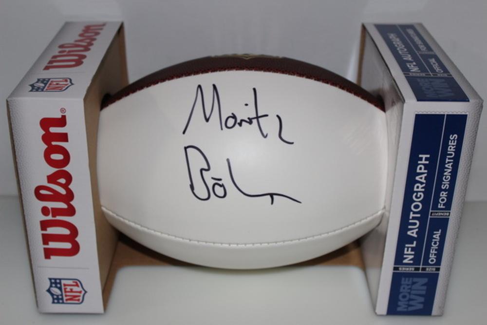 NFL - VIKINGS MORITZ BOHRINGER SIGNED PANEL BALL