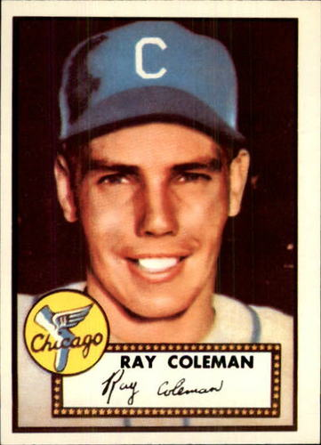 Photo of 1983 Topps 1952 Reprint #211 Ray Coleman