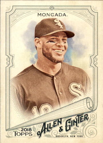 Photo of 2018 Topps Allen and Ginter #19 Yoan Moncada