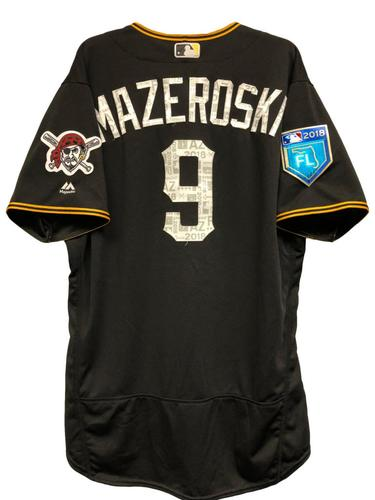 Photo of Bill Mazeroski Team-Issued Spring Training Jersey