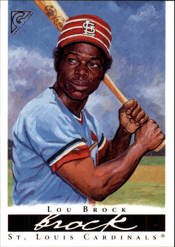 Photo of 2003 Topps Gallery HOF #37 Lou Brock Day