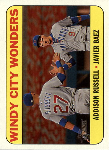Photo of 2018 Topps Heritage Combo Cards #CC7 Javier Baez/Addison Russell