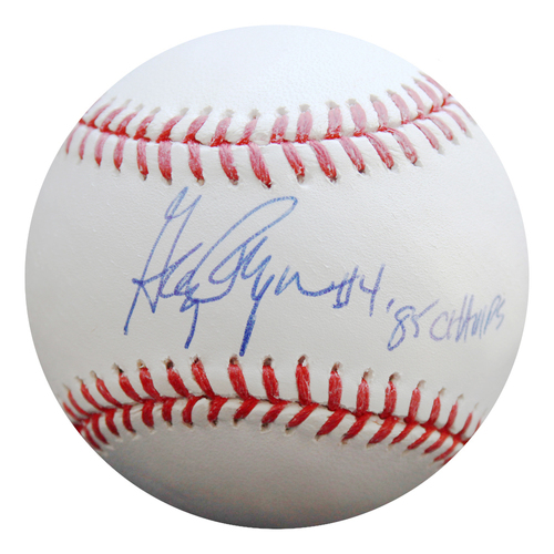 Photo of Autographed Baseball: Greg Pryor