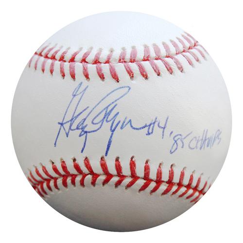 Photo of Autographed Baseball: Greg Pryor