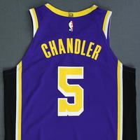 Tyson Chandler - Los Angeles Lakers - Game-Worn Statement Edition Jersey - 2018-19 Season