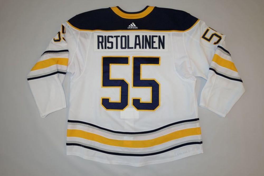 Rasmus Ristolainen 2018-19 Buffalo Sabres Set 1 Away Jersey