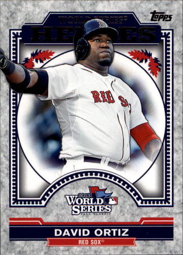 Photo of 2014 Topps Update World Series Heroes #WSHDO David Ortiz