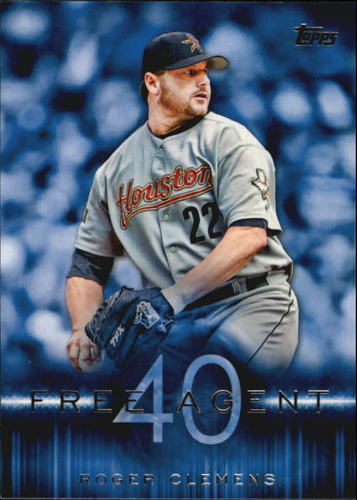 Photo of 2015 Topps Free Agent 40 #F4014 Roger Clemens