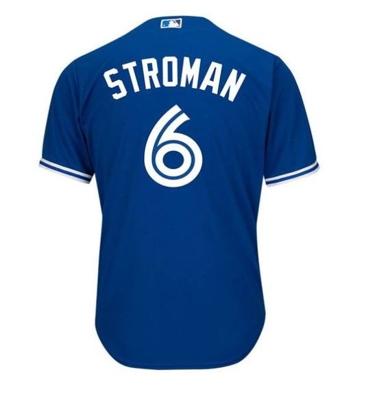 Toronto Blue Jays Youth Marcus Stroman Alt. Replica Jersey by Majestic