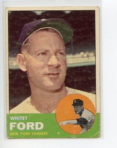 Photo of 1963 Topps #446 Whitey Ford