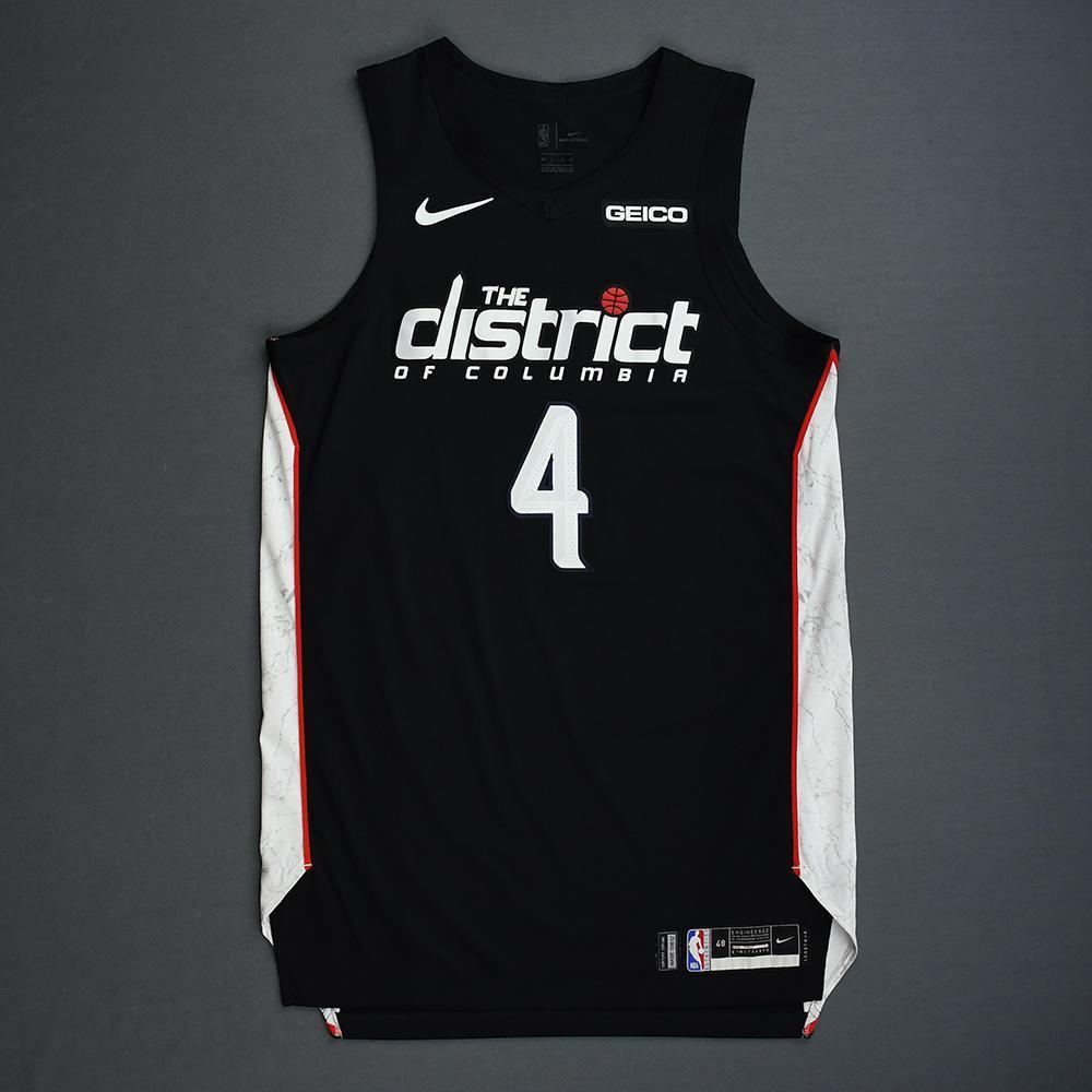 Wesley Johnson - Washington Wizards - 2018-19 Season - Game-Worn Black City Edition Jersey