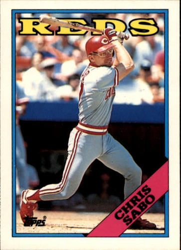 Photo of 1988 Topps Traded #98T Chris Sabo XRC