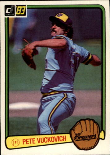 Photo of 1983 Donruss #80 Pete Vuckovich