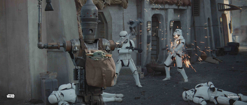 IG-11 and Stormtroopers