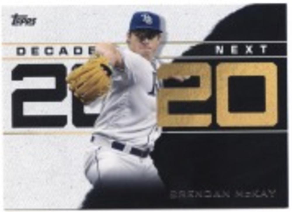 2020 Topps Decade's Next #DN26 Brendan McKay