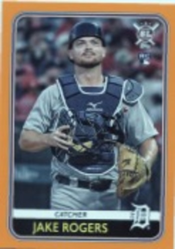 Photo of 2020 Topps Big League Orange #199 Jake Rogers