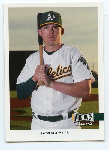 Photo of 2017 Topps Archives Snapshots #ASRH Ryon Healy RC