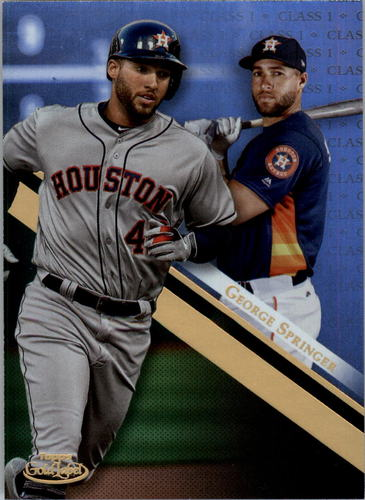 Photo of 2019 Topps Gold Label Class 1 #28 George Springer