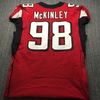 Crucial Catch - Falcons Takkarist McKinley Game Used Jersey Size 44 (10/20/19)
