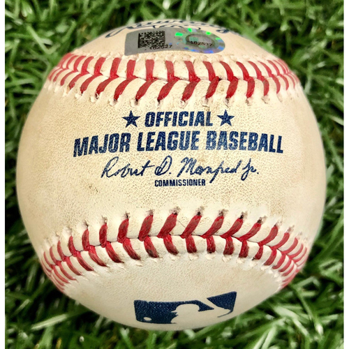 Photo of Rays Baseball Foundation: American League Wild Card Series Game Used Baseball - Game #2 - Rays Clinch Spot in ALDS - September 30, 2020 v TOR