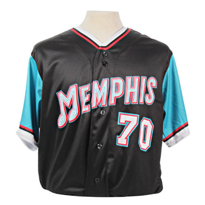 Seth Elledge Autographed Game-Worn 2021 Grizzlies-themed Jersey