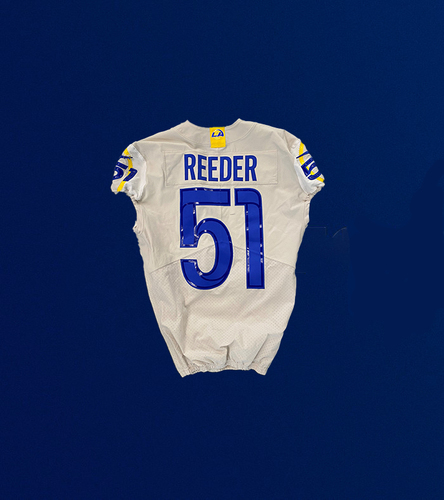 Photo of Troy Reeder Game Used Jersey - (9/19/2021 VS. Indianapolis Colts)