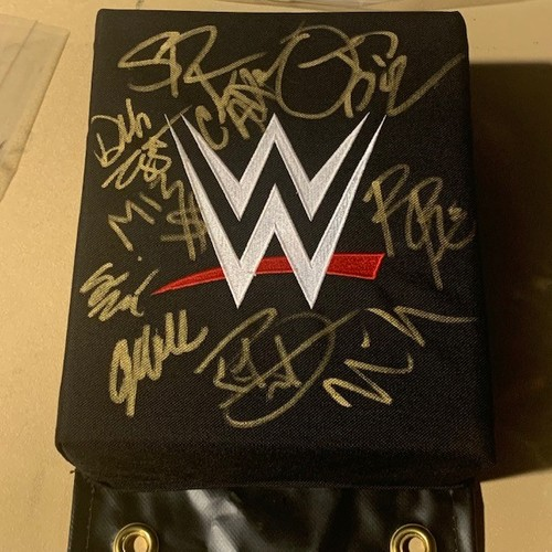 Photo of SIGNED and USED WWE Turnbuckle(MSG 9/9-9/10 2019)