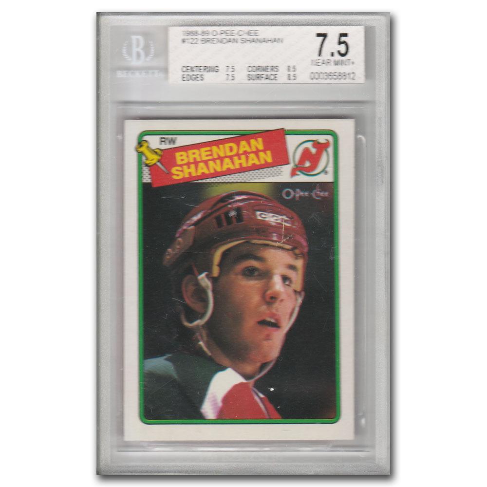 Brendan Shanahan New Jersey Devils 1988-89 O-PEE-CHEE #122