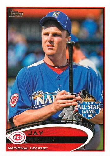 Photo of 2012 Topps Update #US308 Jay Bruce