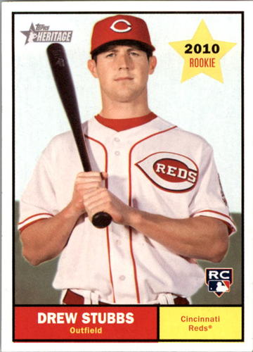 Photo of 2010 Topps Heritage #156 Drew Stubbs RC