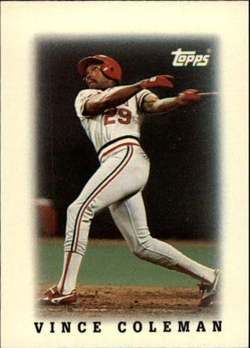 Photo of 1988 Topps Mini Leaders #70 Vince Coleman