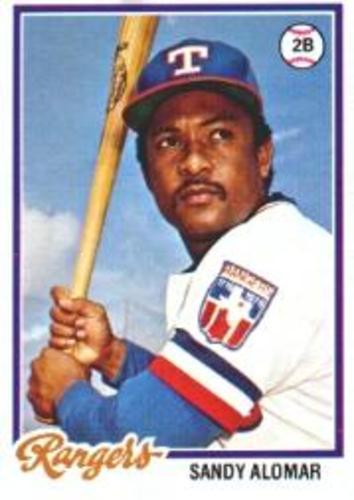 Photo of 1978 Topps #533 Sandy Alomar